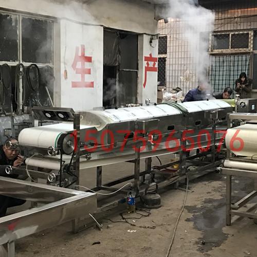 如何挑选好用的凉皮机 全自动凉皮机操作视频优创凉皮机专业厂家