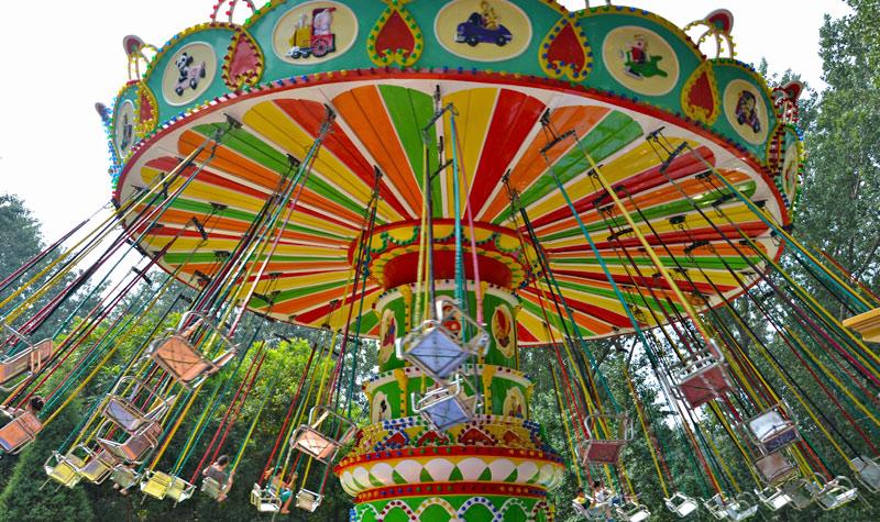 江西摇头飞椅游乐设备批发 看到就想玩的摇头飞椅游乐设备