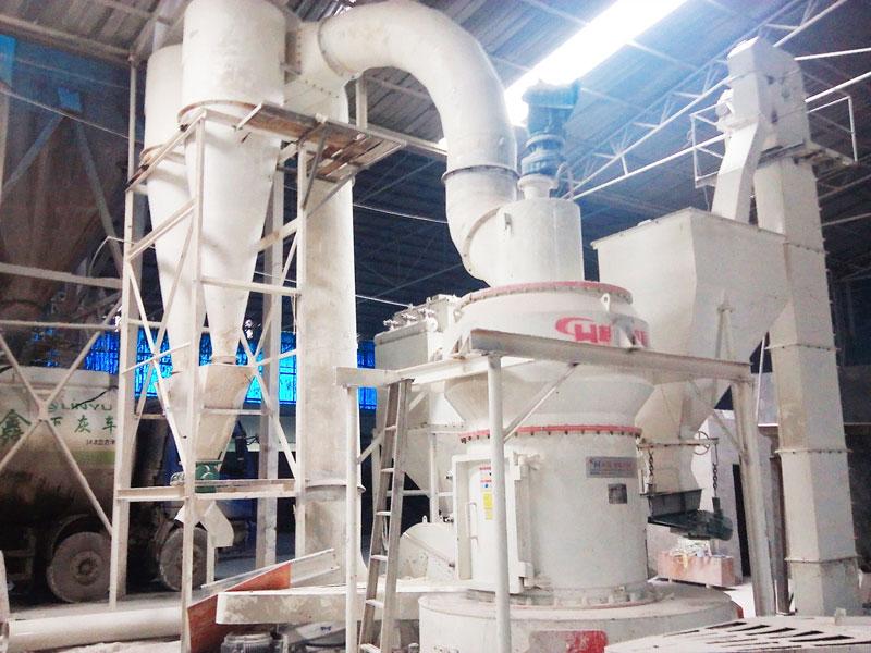 超微磨粉机高压雷蒙磨桂林鸿程HC1300制粉机