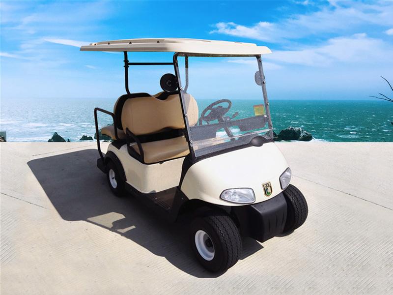新款电动高尔夫球车,易安德电动车供应 四川酒店布草车厂家
