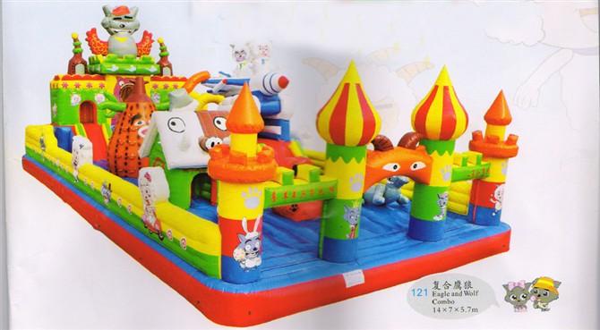 奇美游乐-充气城堡专业品质,优惠的充气城堡