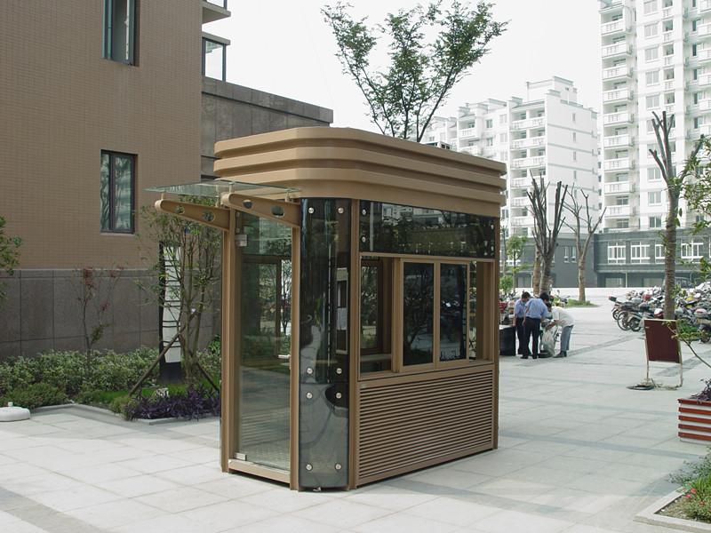 青島優良的鋼結構崗亭出售,市南停車場設備