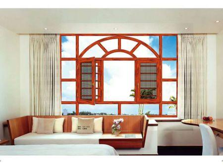 长沙鑫铭幕墙门窗装饰有限公司:断桥窗纱体窗系列