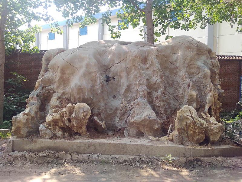 宿州灵璧园林石报价-安徽耐用的灵璧园林石供应