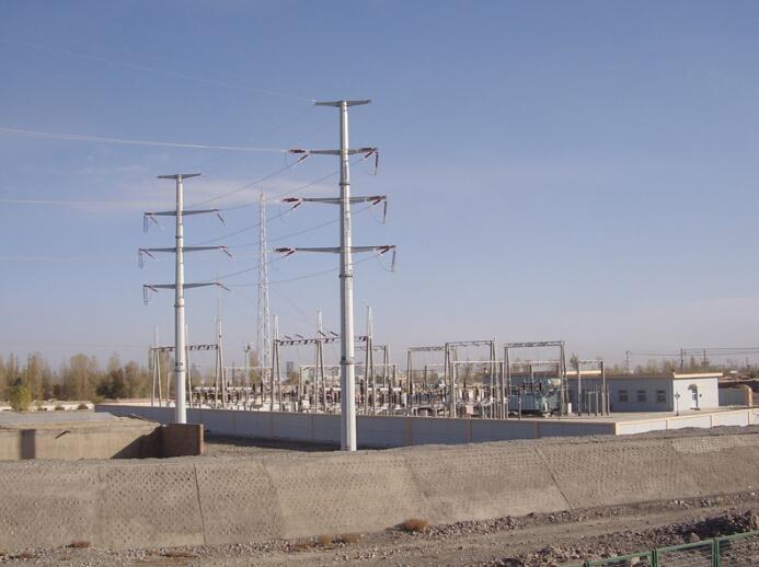 兰州钢杆价格-兰州倚能电气-口碑好的电力钢杆公司