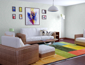 彩粒漆厂商代理-买专业的彩粒漆,就来合社装饰工程