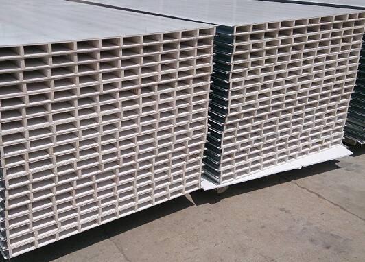 贵州中空玻镁板,中空玻镁净化板
