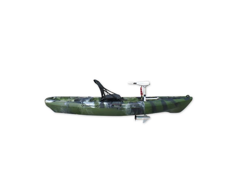 马达电动船 脚踩皮划艇 PE塑料艇