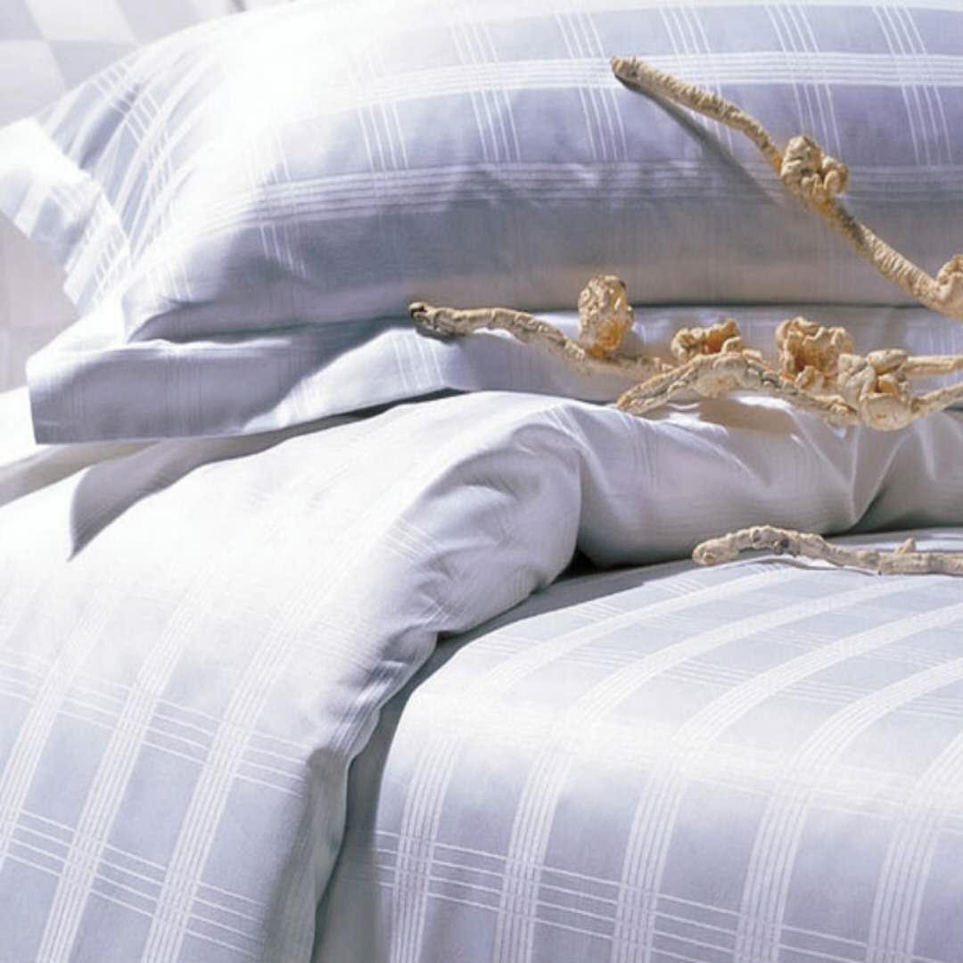 酒店床上用品供货厂家 时代荣江纺织物美价廉的酒店床上用品介绍