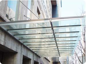 惠州钢结构雨棚 专业承接钢结构雨棚