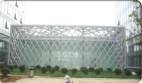 惠州钢结构汽车出入口雨棚 惠州钢结构汽车出入口雨棚施工图