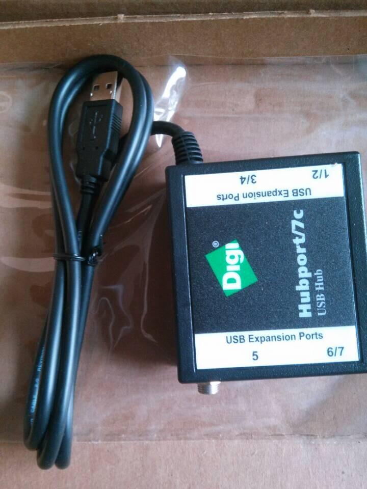 DIGI HUBPORT/7C USB以太网集线器(