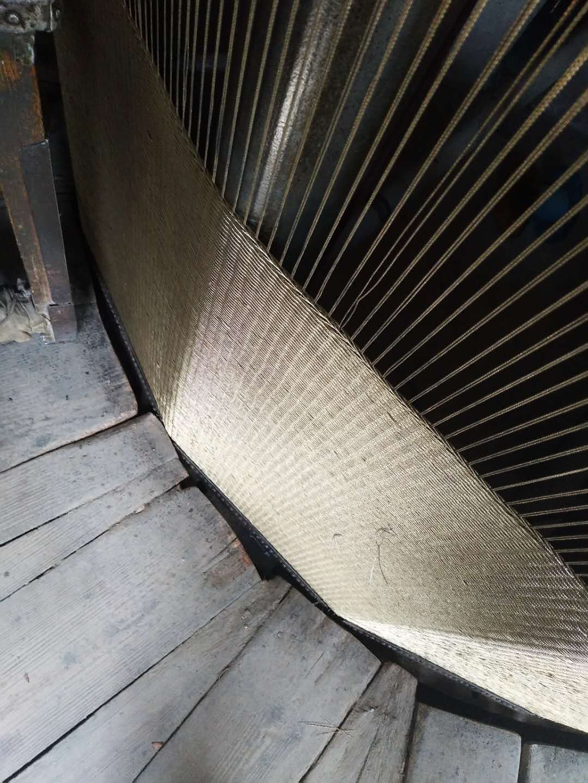 不锈钢及镀铜钢丝压力带