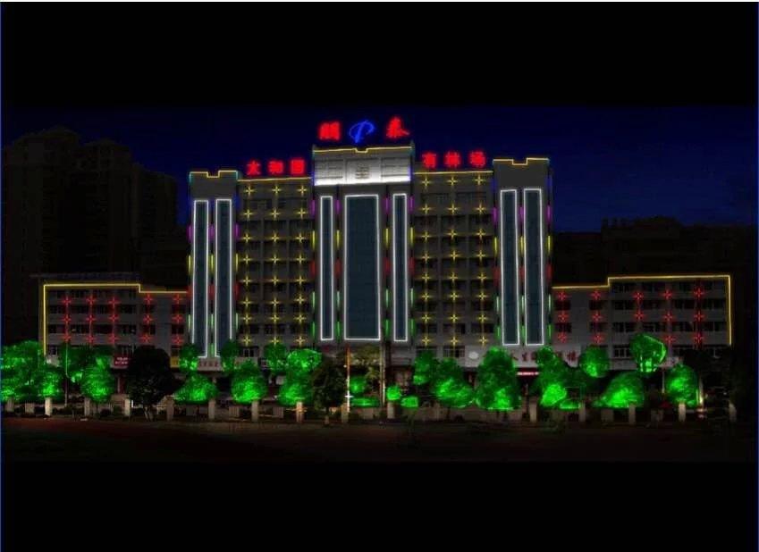 郴州景观亮化专业承接|宜章亮化工程
