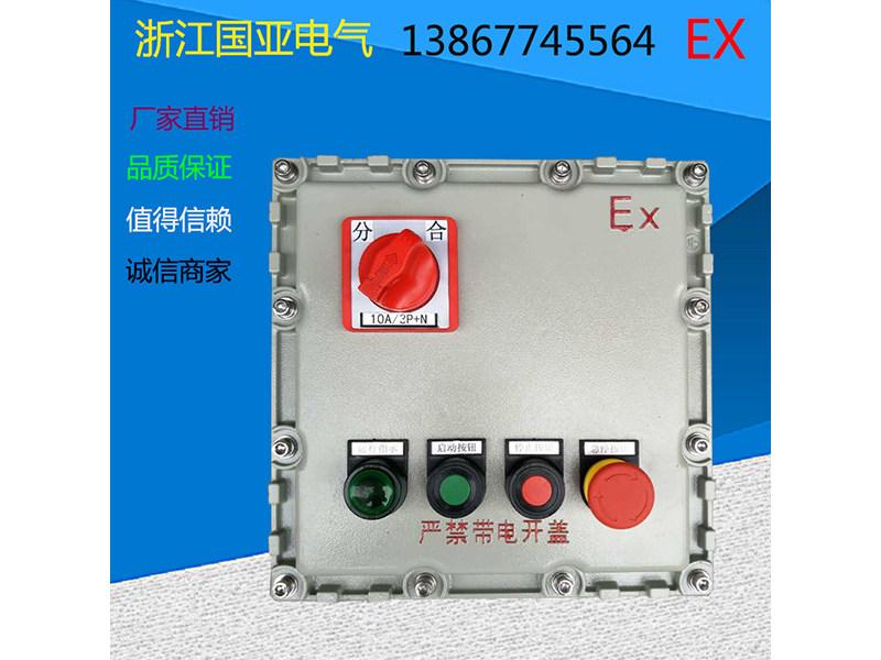 买实惠的防爆控制箱,就选国亚电气 防爆动力控制箱厂家