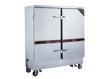 郴州五星级酒店厨具设备——高性价电气两用双门蒸饭柜供销