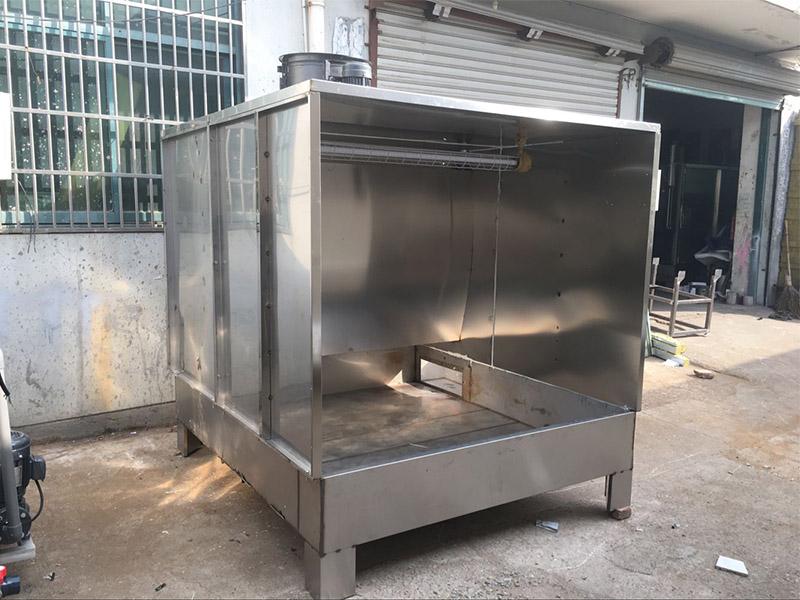 水帘柜喷漆台生产厂家-规模大的不锈钢喷漆环保水帘柜生产厂家