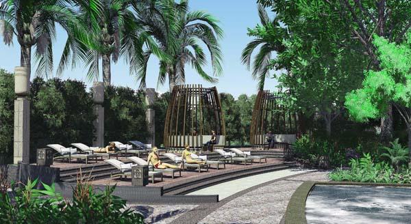 惠州别墅园林设计 佛山私家园林景观设计 广东室外景观设计公司
