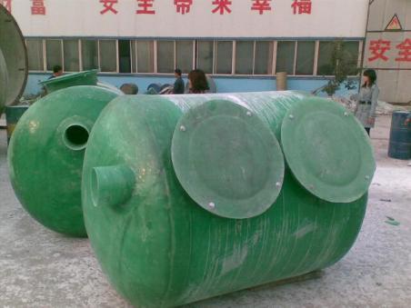 衡水优质的玻璃钢化粪池厂家 辽宁模压玻璃钢化粪池