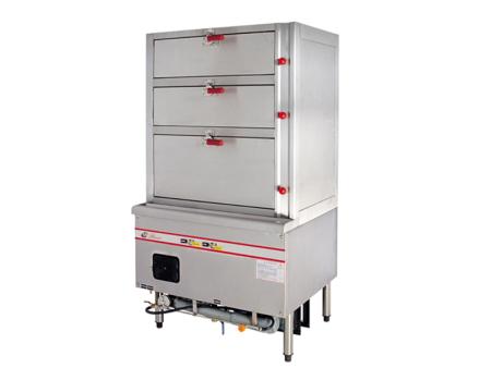 永州西廚設備-郴州耐用的三門海鮮蒸柜哪里買