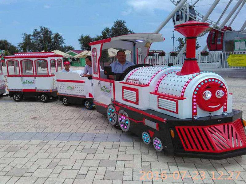 景区观光仿古无轨小火车托马斯无轨小火车价格