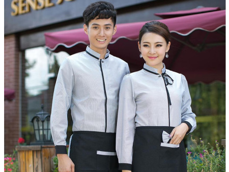 酒店服装当选同丰祥服装 漯河酒店服订做