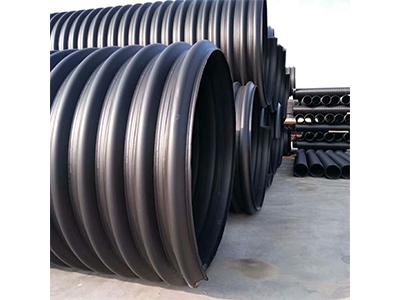 镇江HDPE钢带增强螺旋波纹管供应商哪家好 盐城钢带波纹管