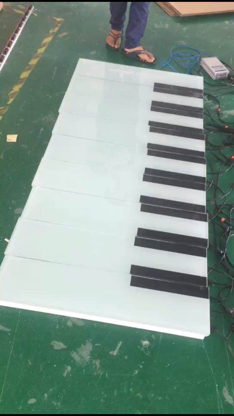 戶外防水感應鋼琴地磚燈價格怎么樣-戶外防水感應地磚燈專業制作