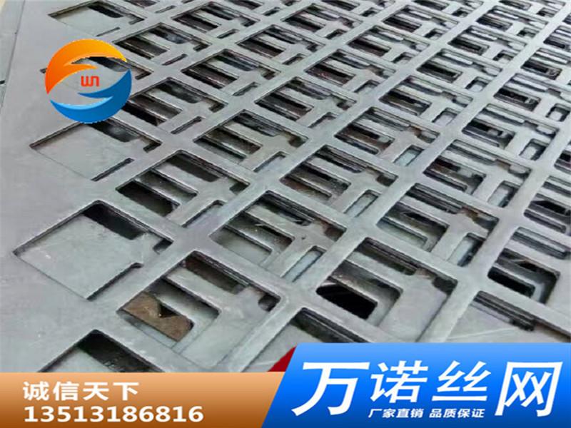 厂家直销不锈钢板冲孔网方型孔筛 不锈钢多孔板冲孔板