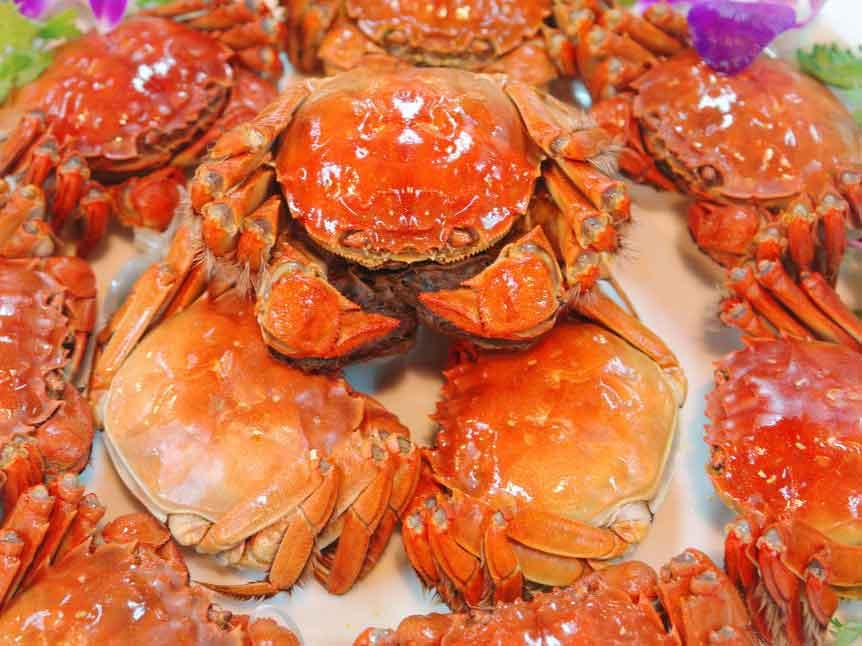 上海信誉好的3对装阳澄湖大闸蟹经销商|天然的大闸蟹礼卡