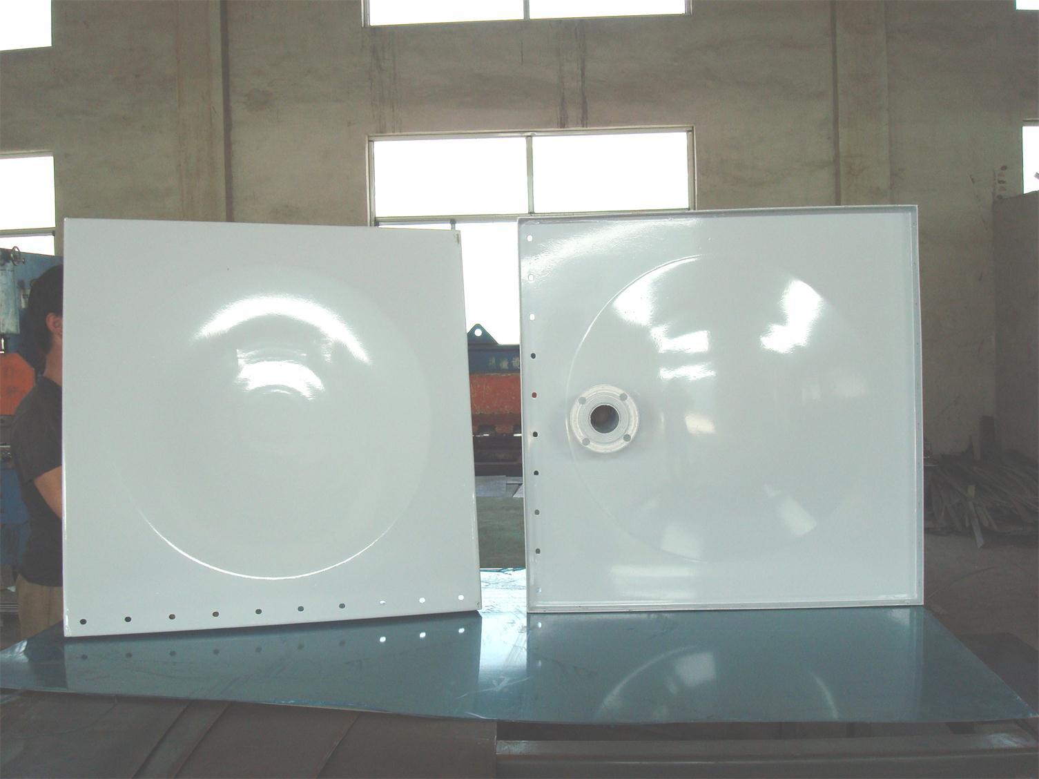 装配式给水箱〈钢板组装〉 喷塑钢板水箱