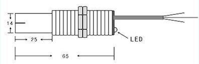 PA1015型高速齿轮转速传感器