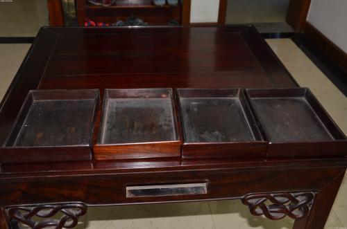 虹口区回收红木家具,大红酸枝木家具回收