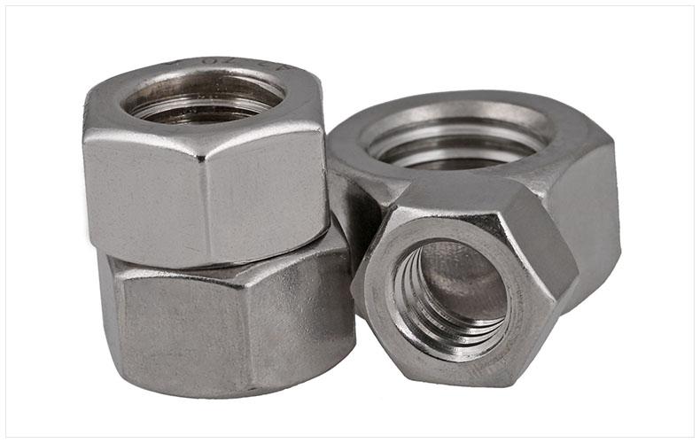 不锈钢重型美制螺母