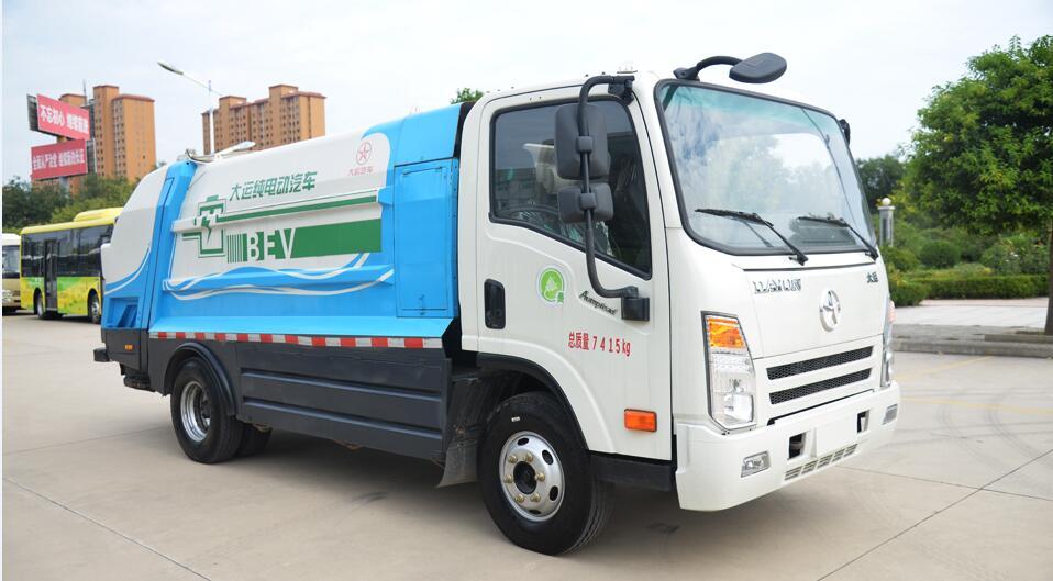 甘肃新能源汽车,甘肃新能源货车,兰州环卫车鼎盛行业领跑