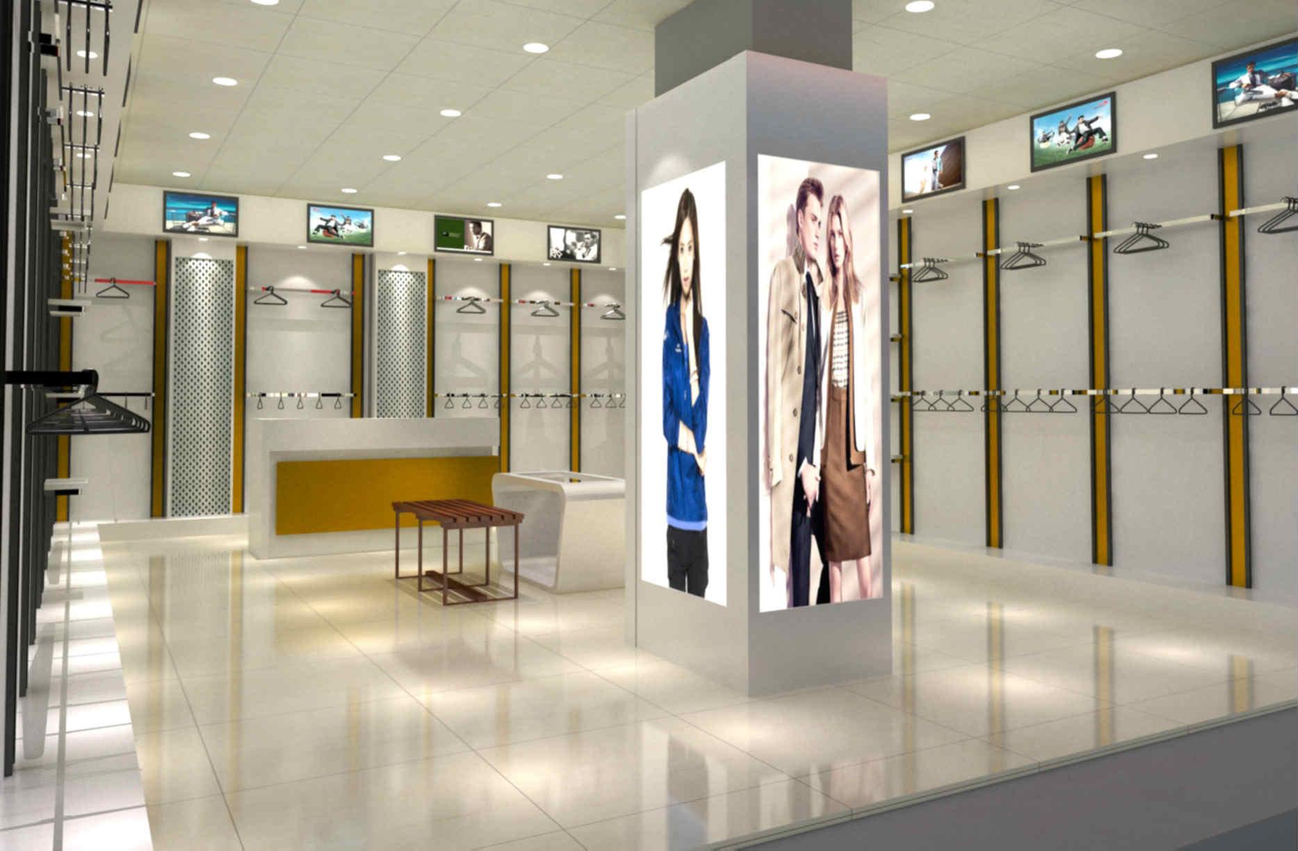 展柜_购买服饰首要选择凯易展柜制造厂|展柜