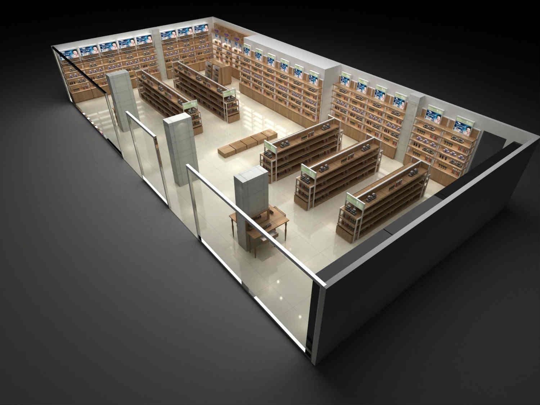 展柜店面设计-哪家供应的店面展柜好