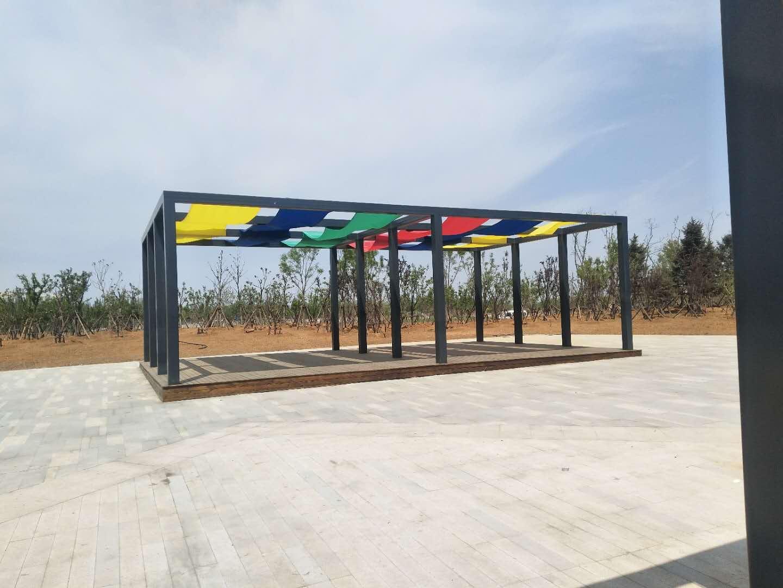 景观廊架价格-沈阳大圣铁艺_景观廊架设计新颖