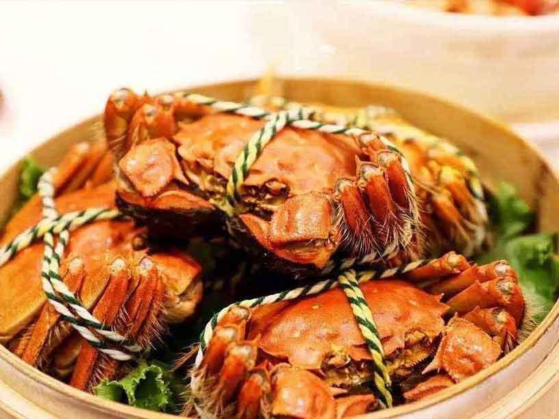 上海市优良的阳澄湖大闸蟹礼盒3对装生产基地-甘肃大闸蟹礼盒