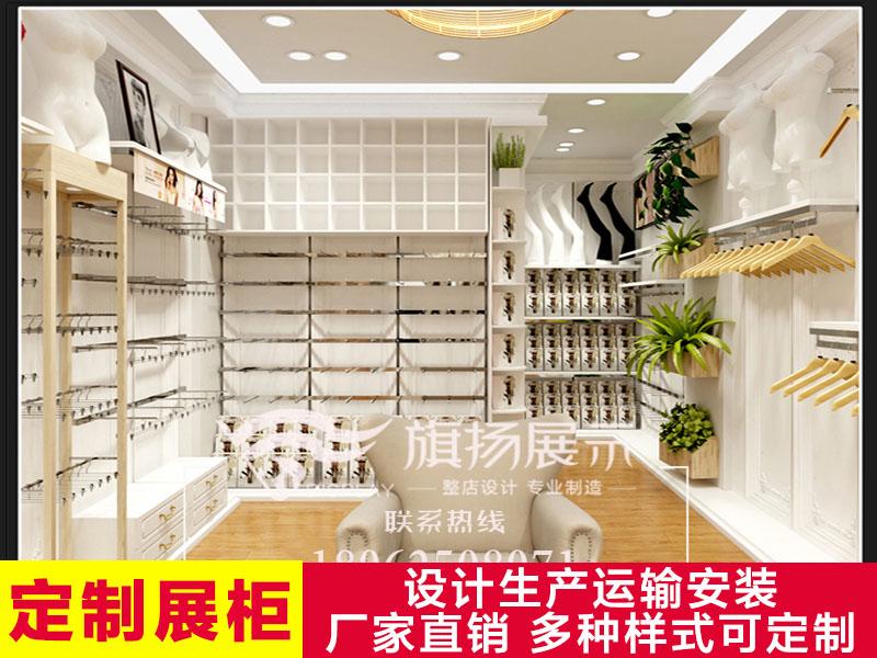 湖北展柜厂武汉定制展柜内衣店展柜铁质货架展示柜男女烤漆柜