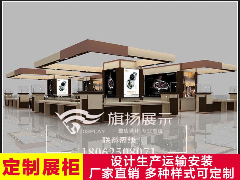 湖北展柜厂武汉定制展柜手表柜台玻璃展示柜高档产品陈列柜定做