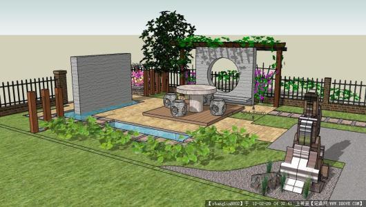 佛山别墅园林绿化设计 惠州建筑景观设计 惠州园林绿化设计