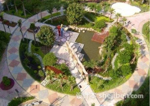 公园景观设计案例 景观设计案例 小庭院植物景观设计 滨水景观设计