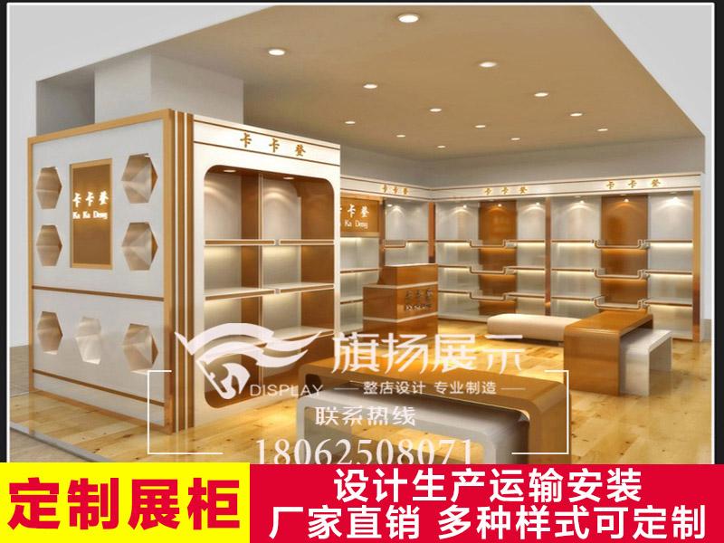 湖北展柜厂武汉定制展柜箱包陈列柜烤漆展示柜精品中岛柜定做
