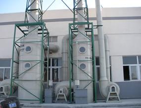 冲击式玻璃钢水浴脱硫除尘器 高压喷雾方式