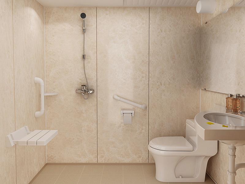 典雅的医用养老款|徐州划算的医院整体卫生间养老院整体卫浴供应