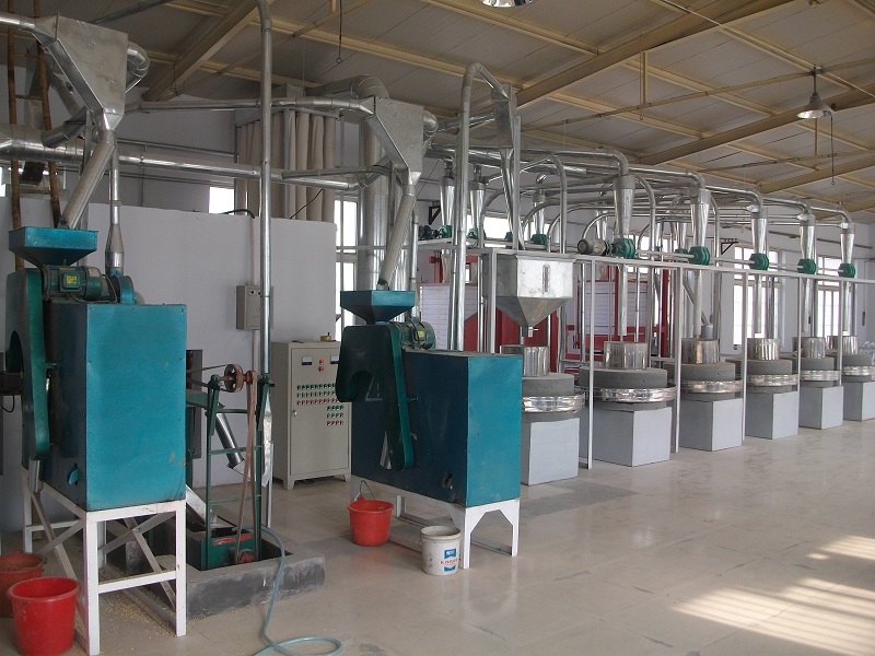 小麦加工成套设备小麦面粉机械