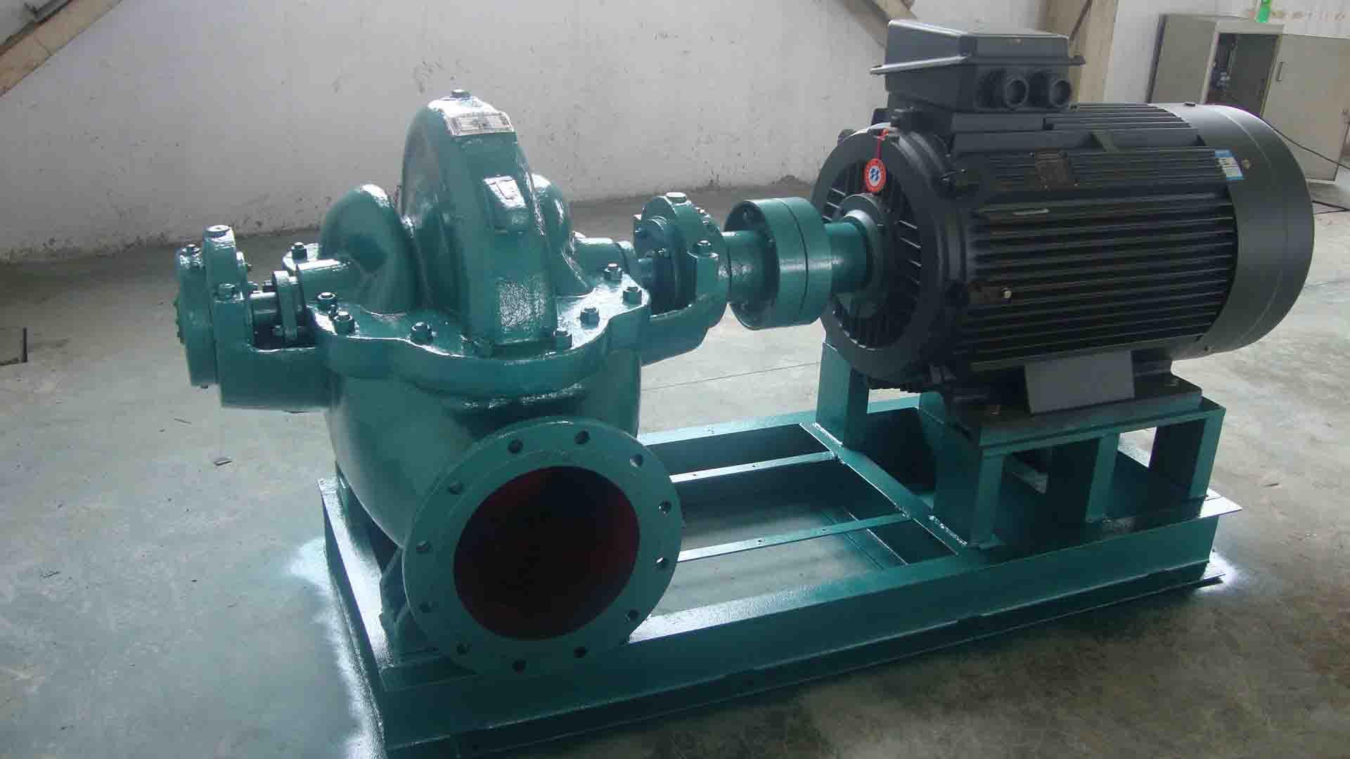 【煙臺通用】煙臺耐腐蝕泵 化工流程泵 SH型中開離心泵