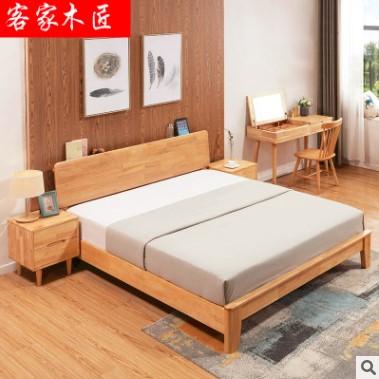 实木床尺寸_好用的实木床赣州厂家直销