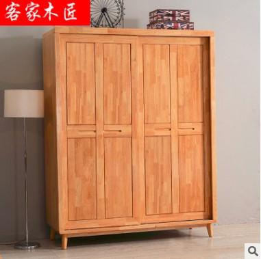 实木两门衣柜